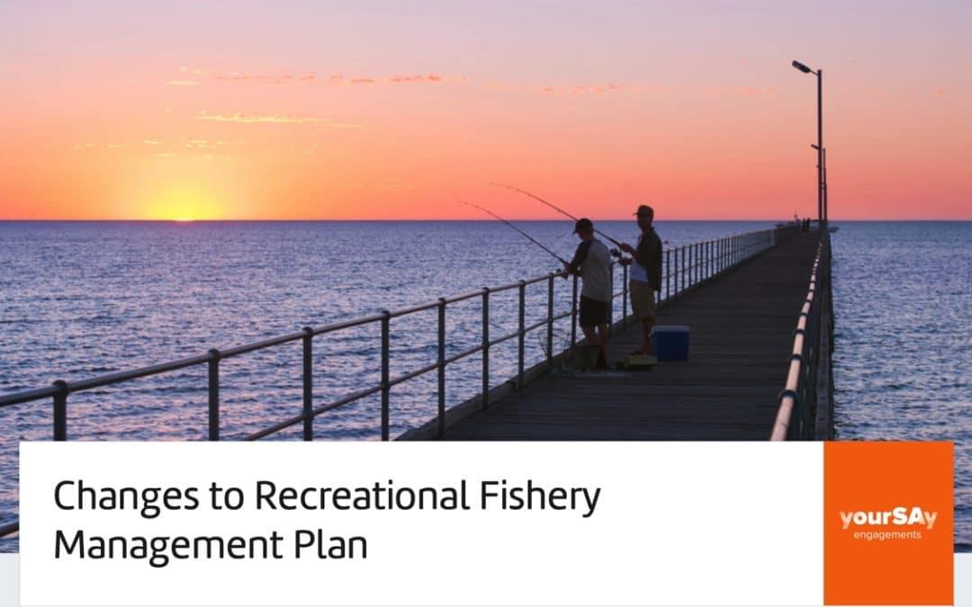 SA Management Plan for Recreational Fishing