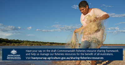 Have your say on the draft Commonwealth fisheries resource sharing framework