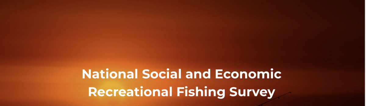National Social and Economic Recreational Fishing Survey