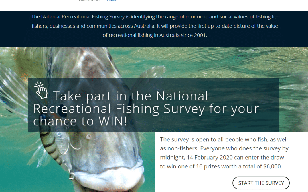 National Recreational Fishing Survey – FRDC